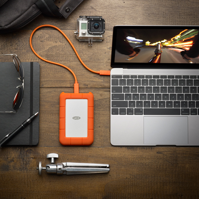 Lacie Rugged Secure 2tb 2 5 Hdd Usb C Usb3 0 W Rescue